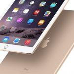 màn hình iPad dính bụi
