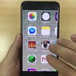 màn hình iphone 6s bị phóng to