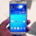 màn hình Galaxy S4 ám màu