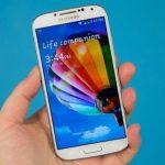 màn hình Galaxy S4 bị giật
