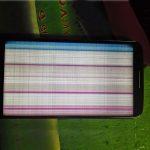 màn hình LG G2 bị sọc