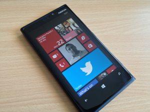 màn hình Lumia 920 bị đơ