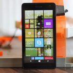 Lumia 535 cảm ứng kém