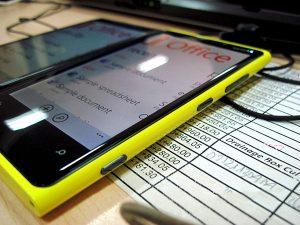 màn hình Lumia 920 bị rung