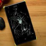 vỡ mặt kính Lumia 520