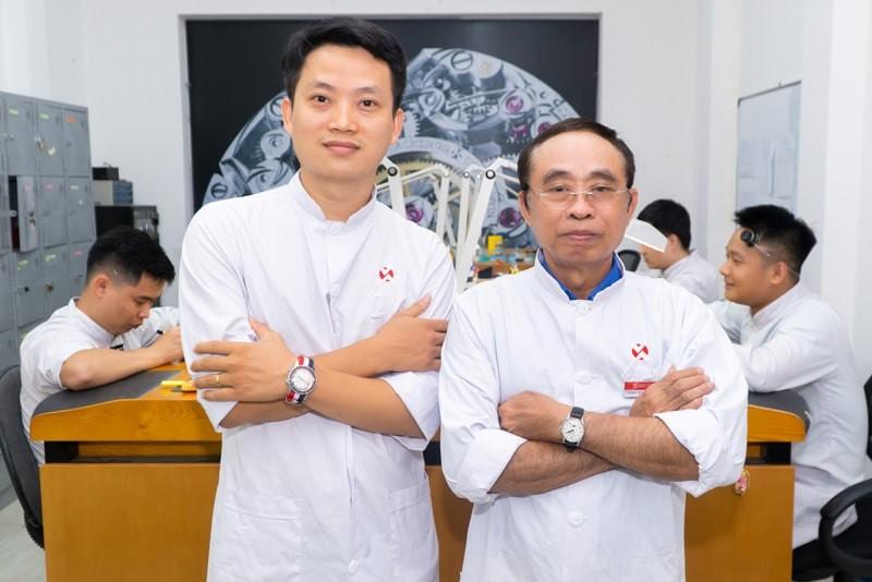 Thầy Phan Tấn Chi: Người Việt Nam đầu tiên được chứng nhận và cấp phép sửa Omega trên toàn thế giới