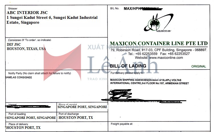 switch-bill-of-lading