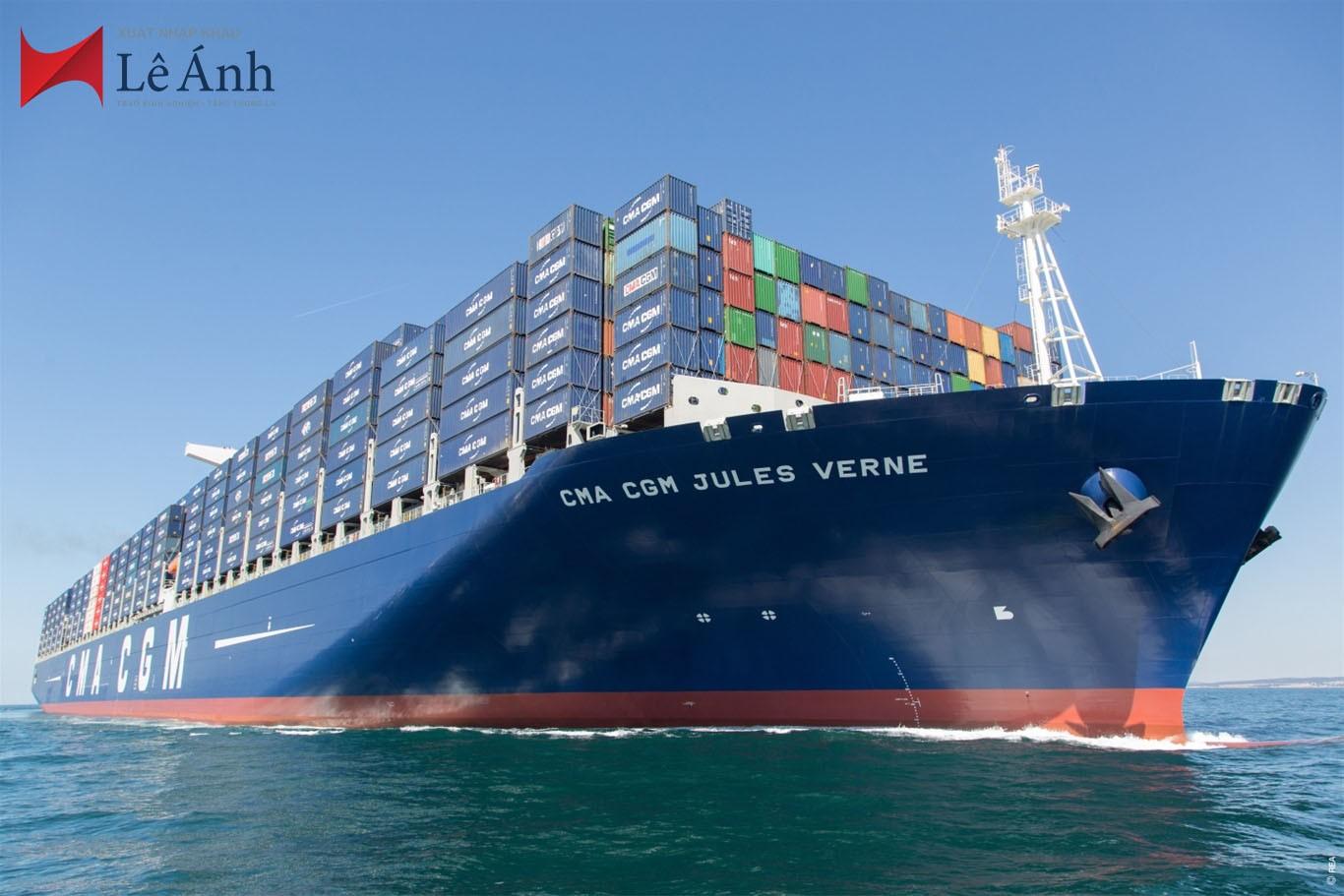 Quy trình xuất khẩu lô hàng bằng đường biển