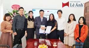 Xuất nhập khẩu Lê Ánh và ký kết hợp đồng hợp tác cung ứng nhân sự với Công ty Cổ phần ADT Quốc tế