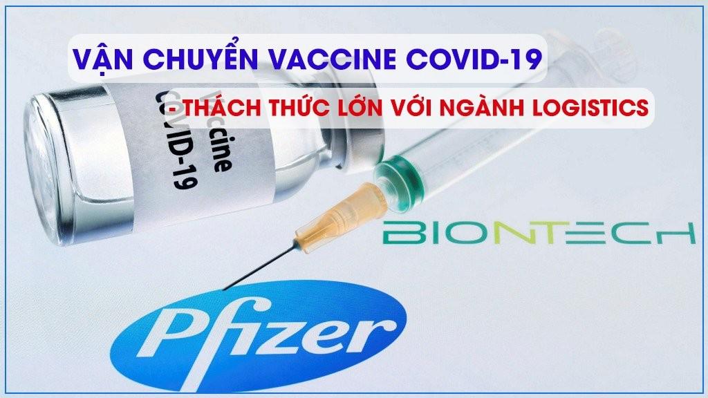 vận chuyển vaccine Covid 19 thách thức với ngành Logistics