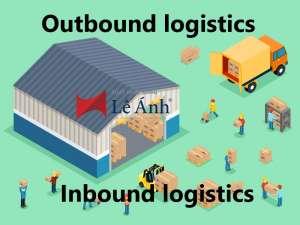 Sự khác nhau giữa inbound logistics và outbound logistics?