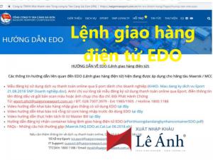 Lệnh giao hàng điện tử EDO